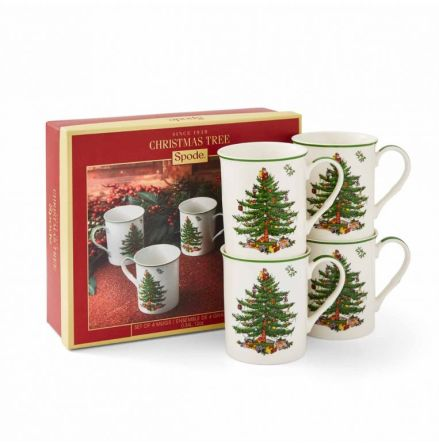 Christmas Tree Mugg 4-pack 0,22L