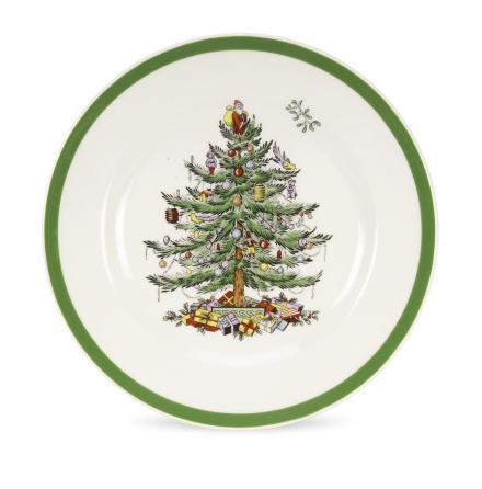 Christmas Tree Desserttallrik