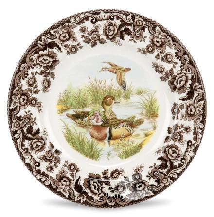 Woodland Tallrik - Wood Duck