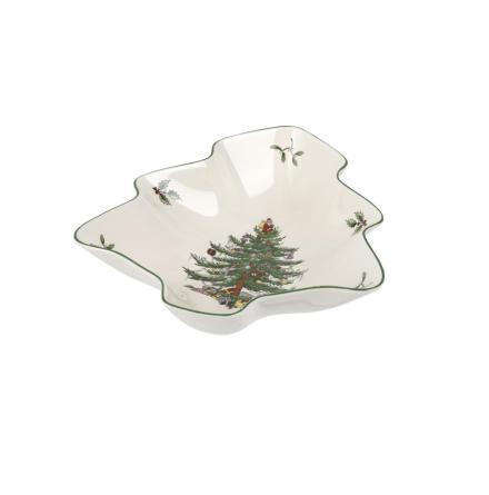 Christmas Tree Julgransformad skål 20cm