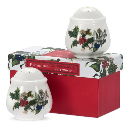 Holly & Ivy Salt & Peppar Set