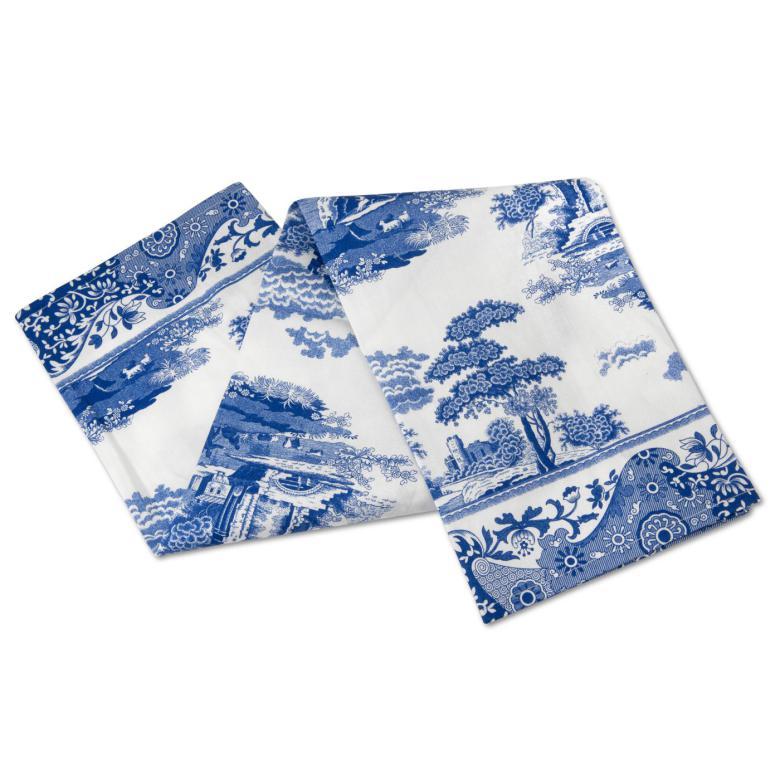 Blue Italian Handduk