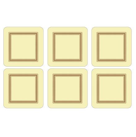 Classic Cream Glasunderlägg 6-pack