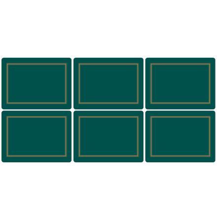 Classic Emerald Bordsunderlägg 6-pack