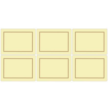 Classic Cream Bordsunderlägg 6-pack