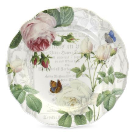 RHS Roses Plate 20cm