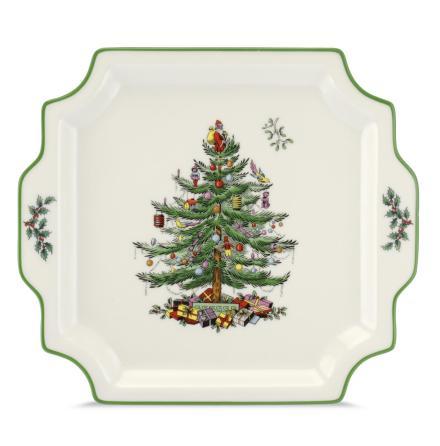 Christmas Tree Square Handled