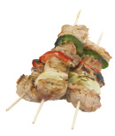 100st Shish kebab grillspett, trä