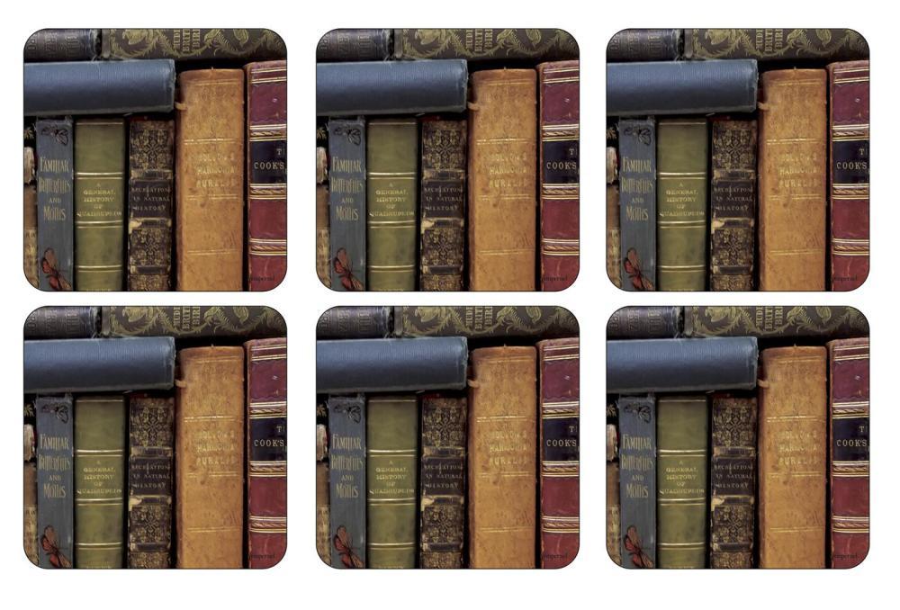 Archive Books Glasunderlägg 6-pack