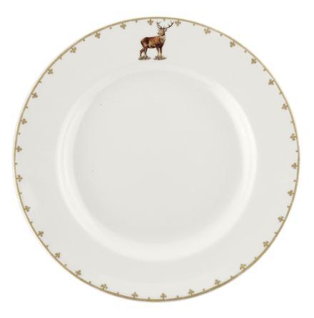 Glen Lodge Stag Plate 27cm