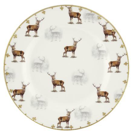 Glen Lodge Stag Plate 20cm