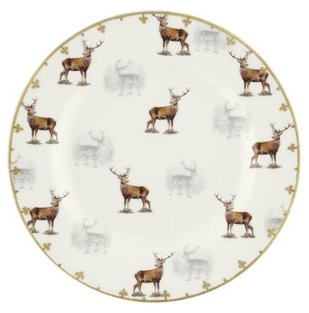 Glen Lodge Stag Plate 20cm