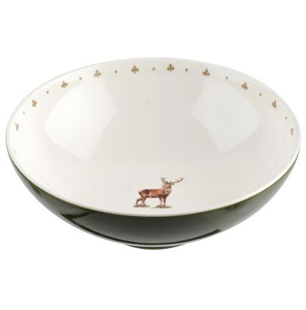 Glen Lodge Stag Salad Bowl 24c