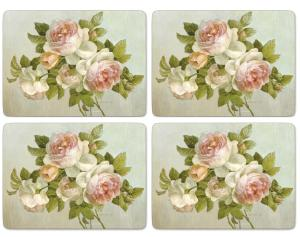 Antique Rose Bordsunderlägg 4-pack