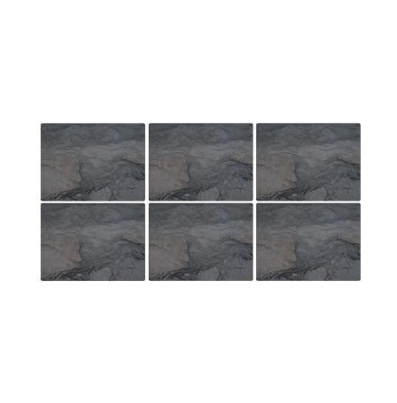 Midnight Slate Bordsunderlägg 6-pack