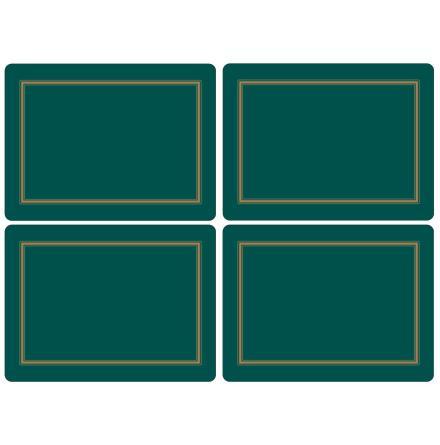 Classic Emerald Bordsunderlägg 4-pack