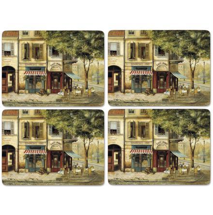 Parisian Scenes Bordsunderlägg 4-pack