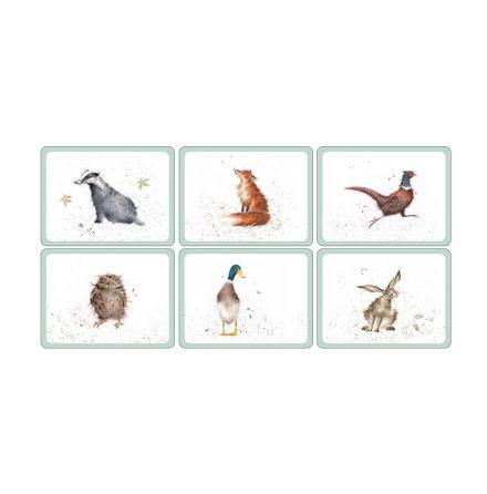 Wrendale Designs Bordsunderlägg 6-pack